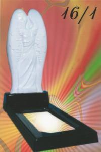 Памятник из литьевого мрамора №16.1