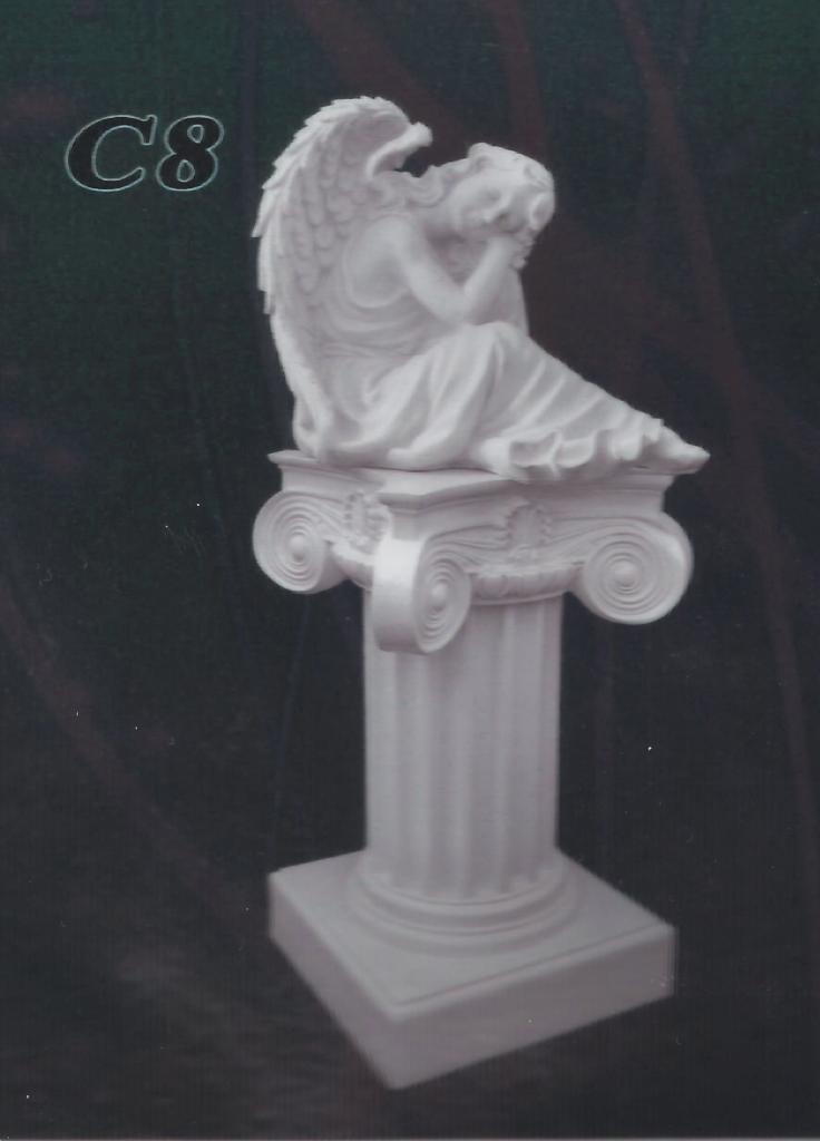 Скульптура для памятника из литьевого мрамора